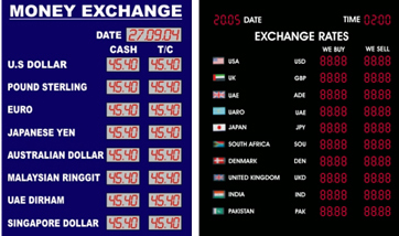 Forex exchange today